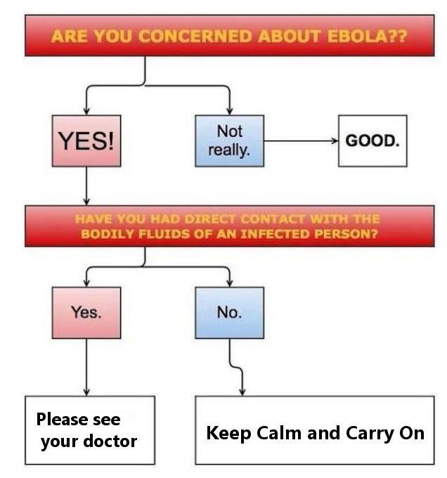 Ebola Virus Flowchart